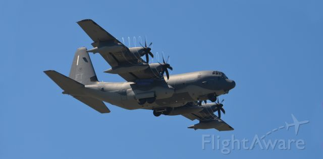 Lockheed C-130 Hercules — - HC-130 of the 920th Rescue Wing. Flying out of Patric AFB, Melbourne FL. Doing touch and goes.