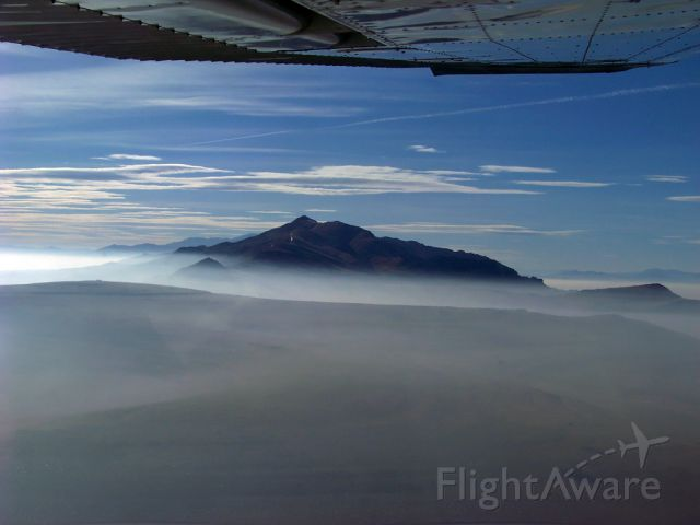 Cessna Skyhawk (N29MX) - Over the Great Salt Lake