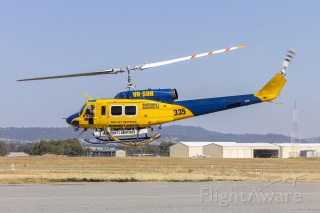 Bell BigLifter (VH-SUH) - McDermott Aviation (VH-SUH) Bell 214B Wagga Wagga Airport