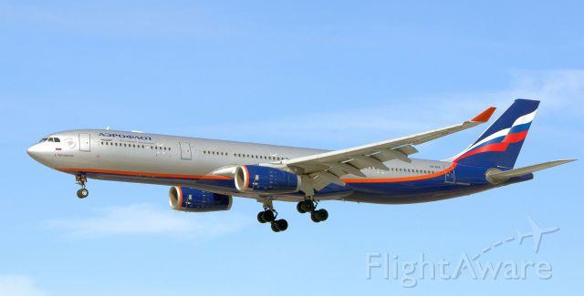 Airbus A330-300 (VQ-BEK) - Aeroflot A333 VQ-BEK