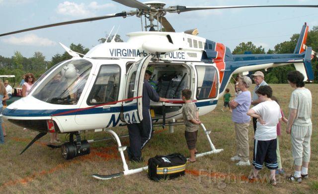 N34VA — - 2000 Bell 407 belongs to Virginia State Police near Danville Va.