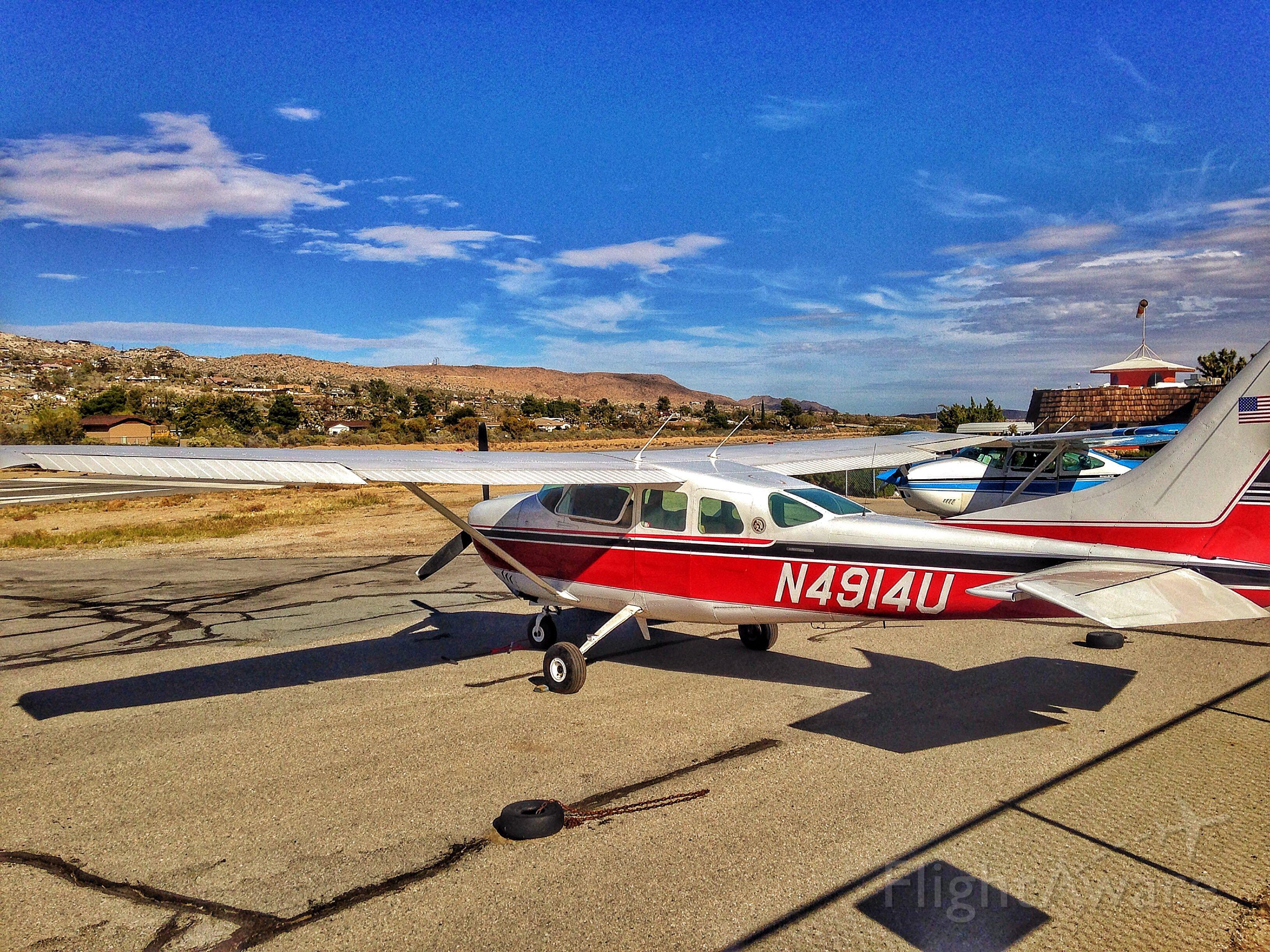 N4914U — - N4914U - 1965 Cessna 210E at L22 Yucca Valley CA