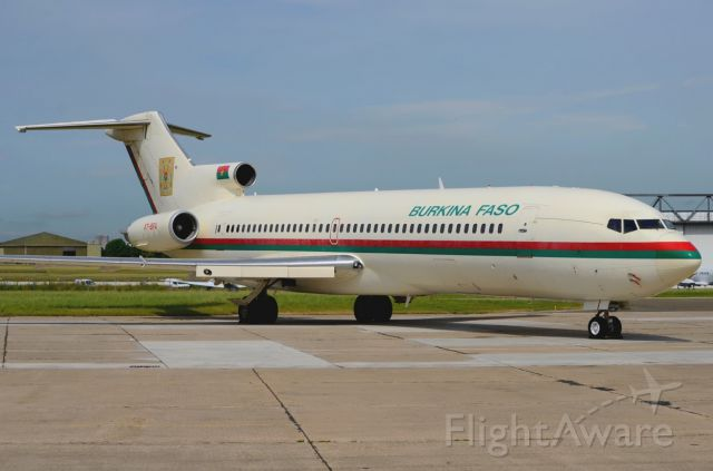 Boeing 727-100 (XT-BFA) - 27/07/2013<br />Burkina Faso Government