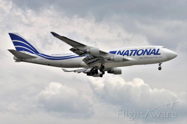Boeing 747-400 (N702CA) - 23-L on 05-25-21