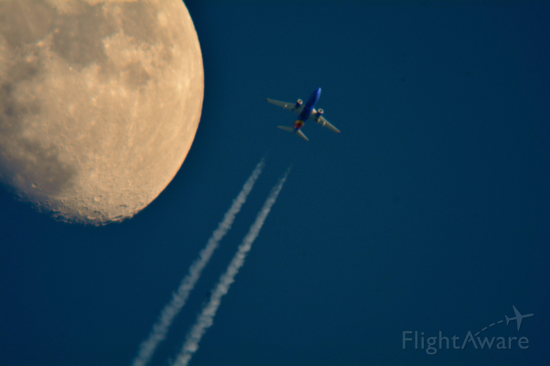 Boeing 737-700 (N7710A) - Southwest 4207 Philadelphia to Denver over Cleveland 36,000 ft.02-28-15