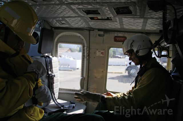 Cessna Citation 1SP (N82NW) - Pre-departure checklist.  Helitack heading to fires near Happy Camp, California