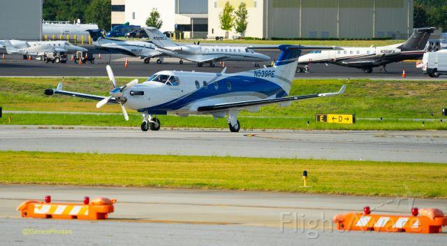Pilatus PC-12 (N539PE) - Not a major fan of prop planes.  But this sleek Pilatus is one of my favorites.