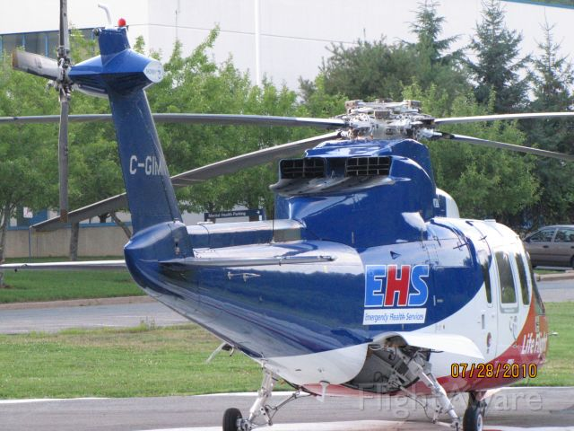 C-GIMN — - Parked on pad at Hospital in Bridgewater NS,,,,,July 28,2010