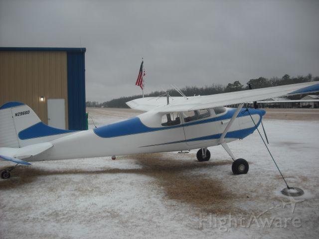 Cessna 170 (N2966D) - MAJOR DELAYS REPORTED AT ROBINS AIR PARK 5A2