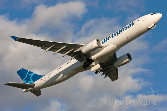 Airbus A330-300 (C-GKTS) - Rotation from 24L