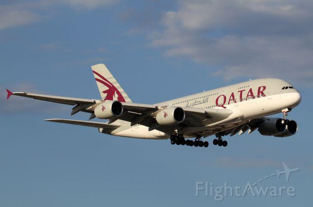 Airbus A380-800 (A7-APC) - Short Final To Rwy 16R
