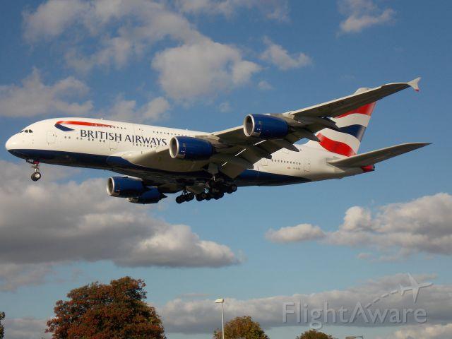 Airbus A380-800 (G-XLEE)