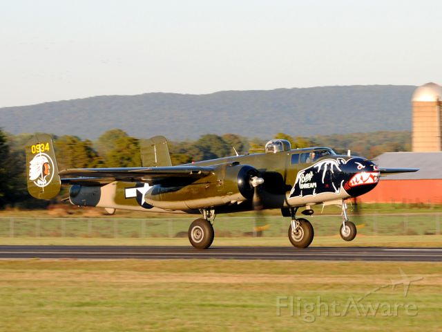 N5672V — - There really is nothing like the roar of a radial engine...except for maybe the roar of two!!  Beautiful example of the B-25 Mitchell!!