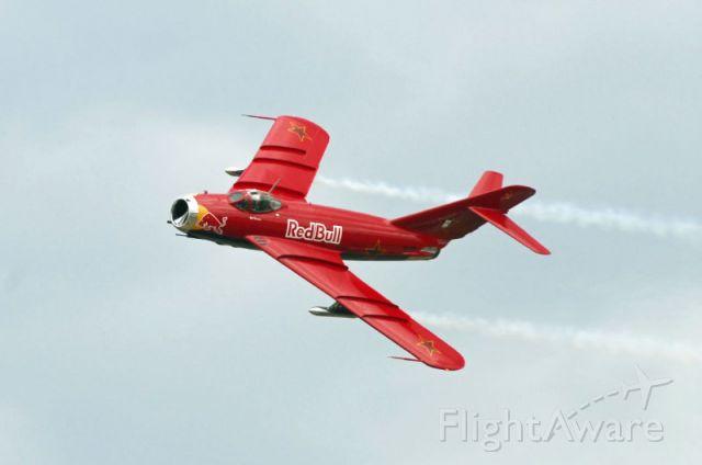 — — - RedBull MIG at Oregon International Airshow 2008