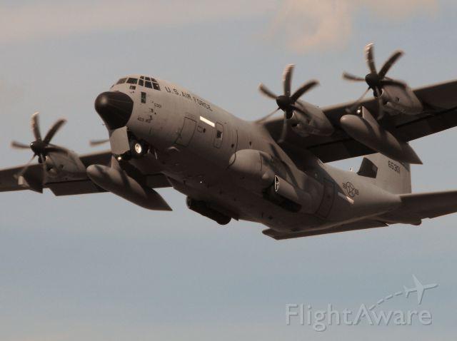 Lockheed C-130 Hercules (96-5301) - WC-130J Hurricane Hunter departing RWY 27