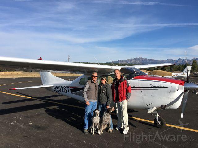 Cessna Centurion (N302ST) - Cousin Scott , Malonie and Annie and Blitz