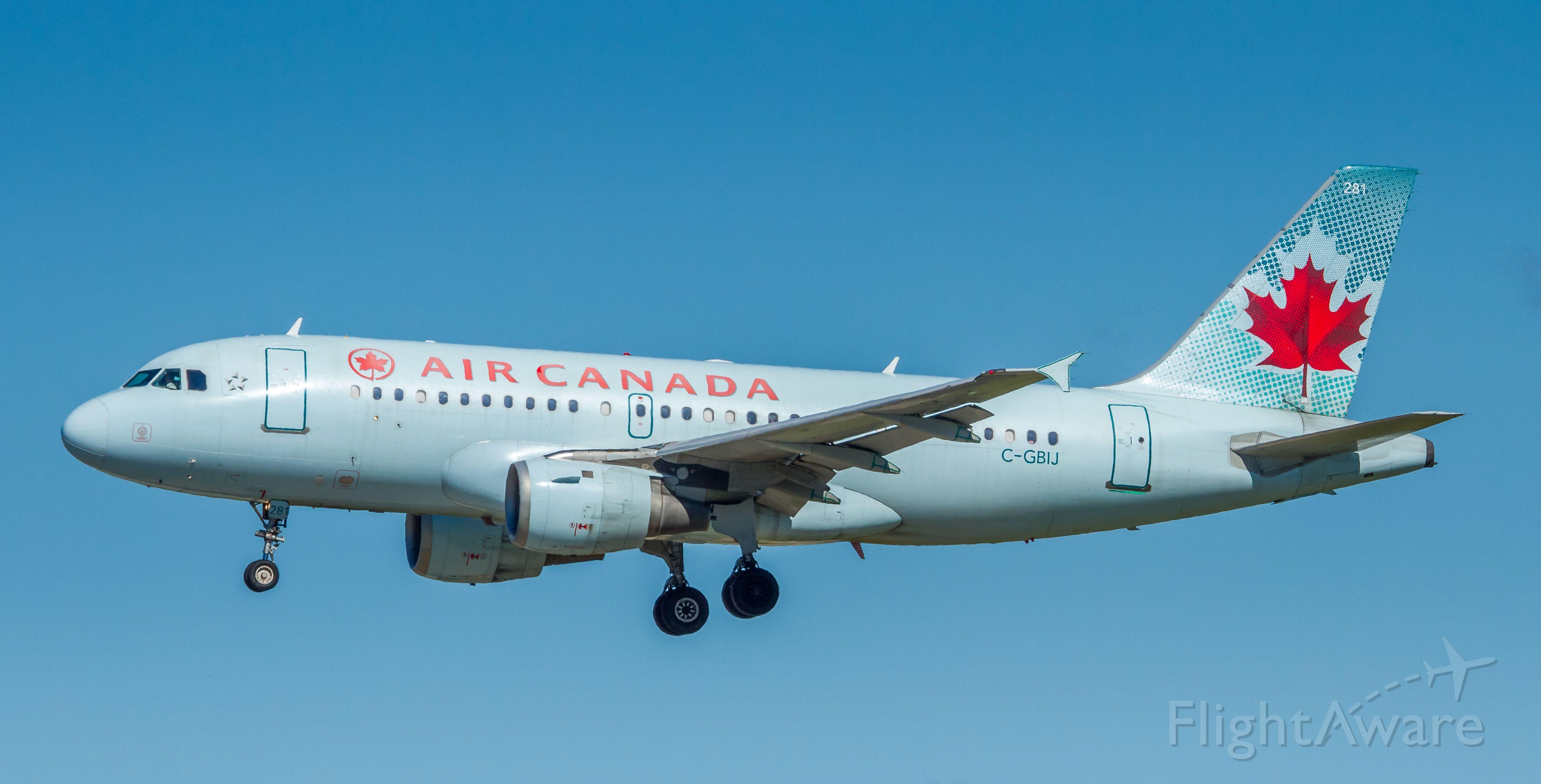 Airbus A319 (C-GBIJ)