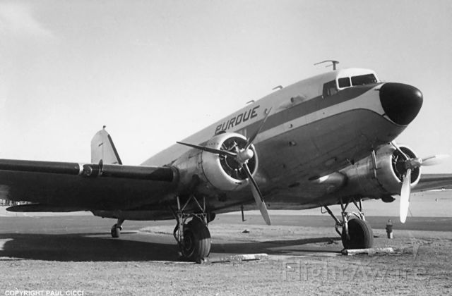 N6898D — - One of four Purdue Airlines DC-3's.