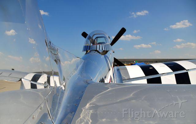 North American P-51 Mustang (N51HY) - Seen at KIAD on 9/25/2010.