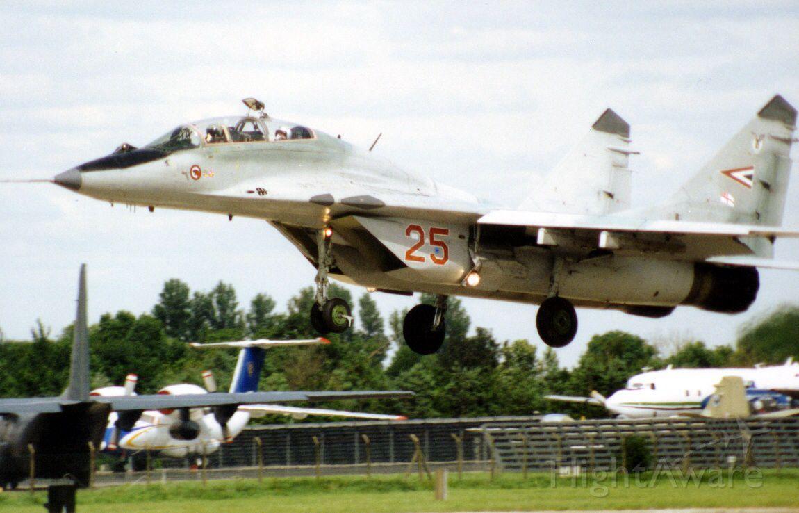 MIKOYAN MiG-33 (N25) - Hungarian Air Force MiG29UB