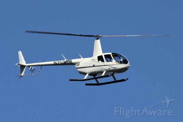 Robinson R-44 (N7530M) - Over Mercer Island, WA