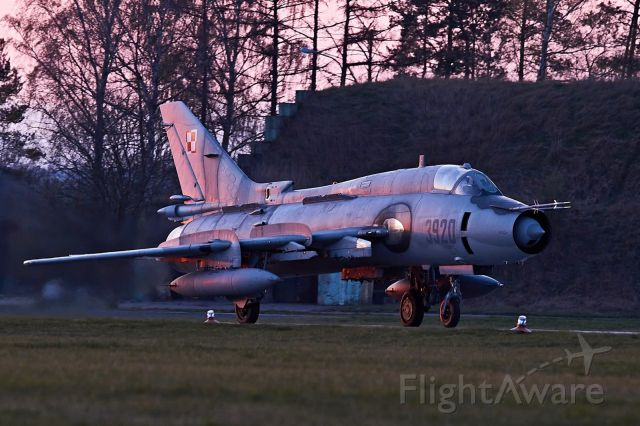 PLAF3920 — - End of operations day at 21-st Tactical Air Base, 2019