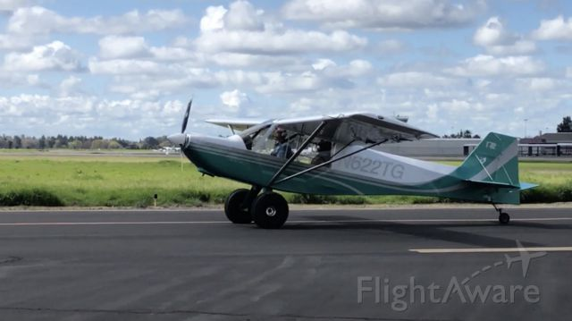 RANS S-7 Courier (N622TG) - Rans S7 Light sport. Taxi from North Hangers for take off. Considered buying it.
