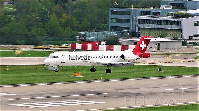 Fokker 100 (HB-JVG)