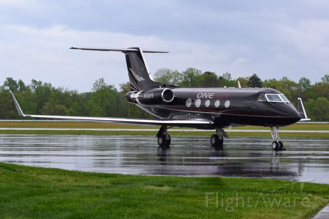 Gulfstream Aerospace Gulfstream 3 (N510FR) - ONEFLIGHT INTERNATIONAL INC at KJQF - 4/13/19 Anyone else notice that the aircraft image on the tail is that of a Citation X?