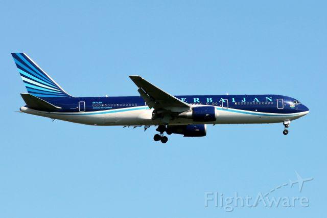 4KAZ81 — - Flight from Baku, Azerbaijan, on final to runway 12. Picture date: 01/2017.