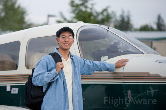 Piper Cherokee (N2112K) - Me and my plane.