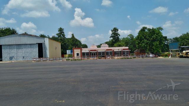 — — - Apron and Hangar at VEBK Regional airport