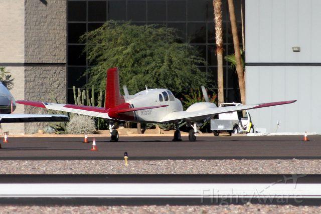 Beechcraft Twin Bonanza (N155P) - 29-Oct-10.