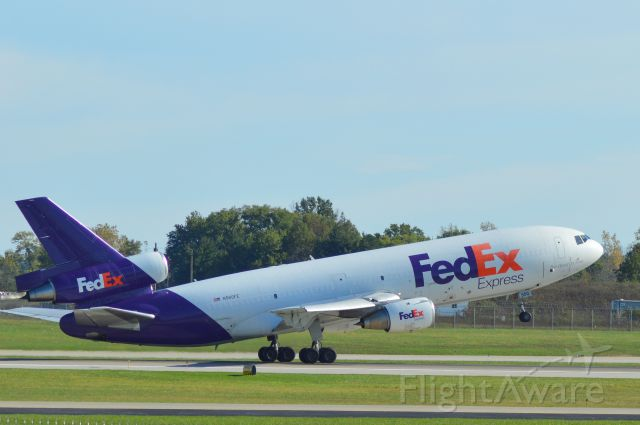McDonnell Douglas DC-10 (N560FE) - Afternoon freight departure from KIND