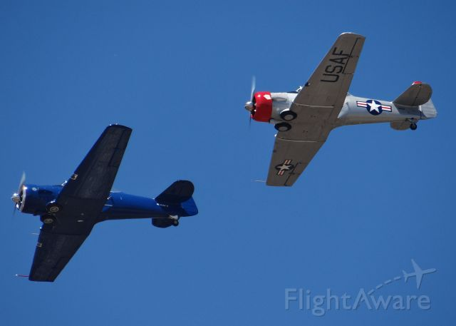North American T-6 Texan (N2832V) - at the 2012 Watsonville Airshow.