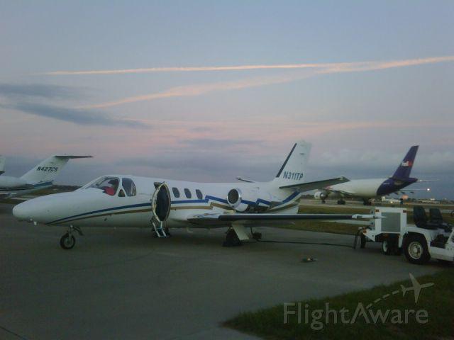 Cessna Citation 1SP (N311TP) - At Citation Center Orlando Florida
