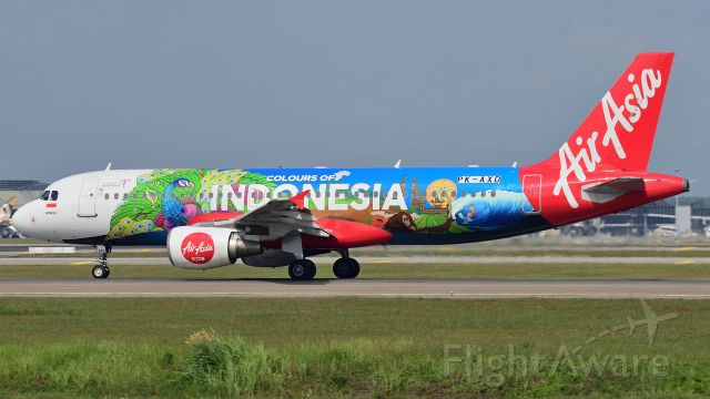 Airbus A320 (PK-AXD) - Colours of Indonesia livery