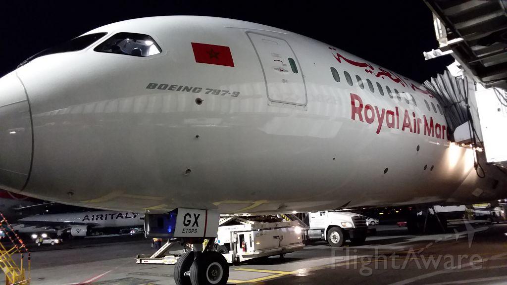Boeing 787-9 Dreamliner (CN-RGX) - Gate 10 Term One JFK IAP