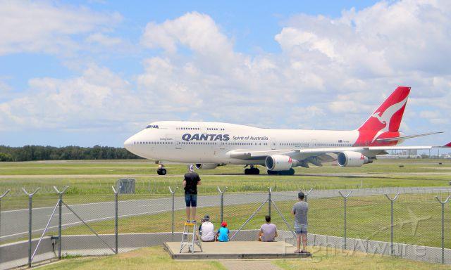 Boeing 747-200 (VH-OEH) - Acacia St Loop Brisbane Airport