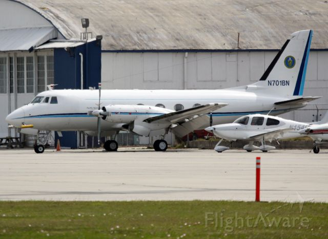 Grumman Gulfstream 1 (N701BN) - BATTELLE PACIFIC NW LABORATORIES,  US Department of Energy (DOE) government research laboratory