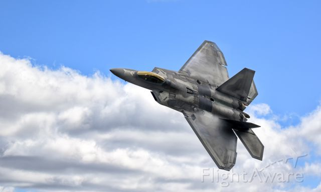 Lockheed F-22 Raptor — - This is an image of F-22 Raptor I took at Thunder over Michigan on August 20th, 2016. br /This has been postprocessed in Adobe Lightroom using the Google Nix collection suite to make the image pop out more. br /br /Let me know what you think!