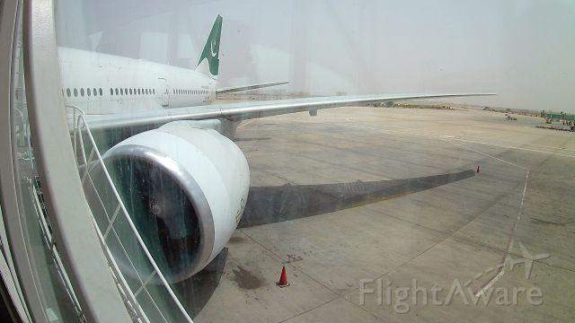 BOEING 777-200LR (AP-BGZ) - Gate View of this PIA Boeing 777-200LR