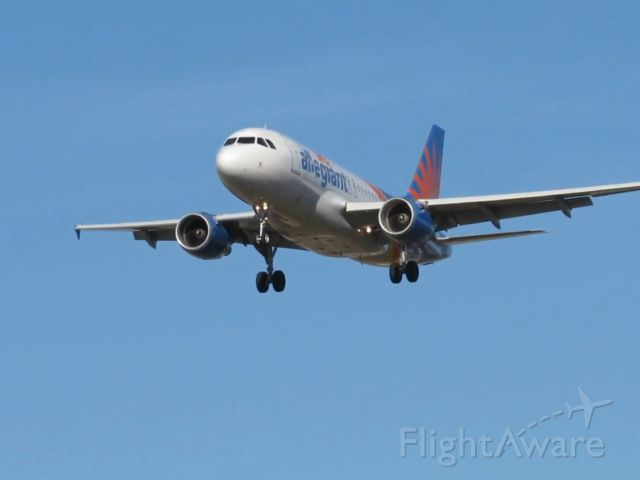 Airbus A319 (N334NV) - Arriving From LAS