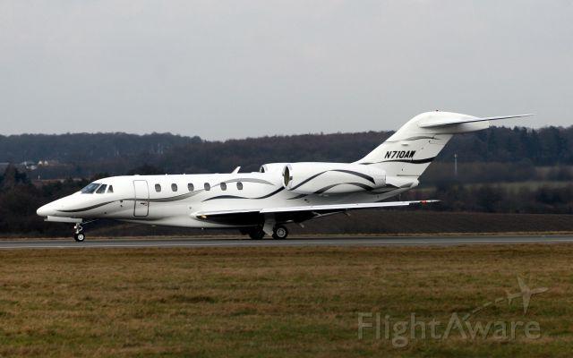 Cessna Citation X (N710AW) - Heading for Abuja Nigeria on 20-Feb-09