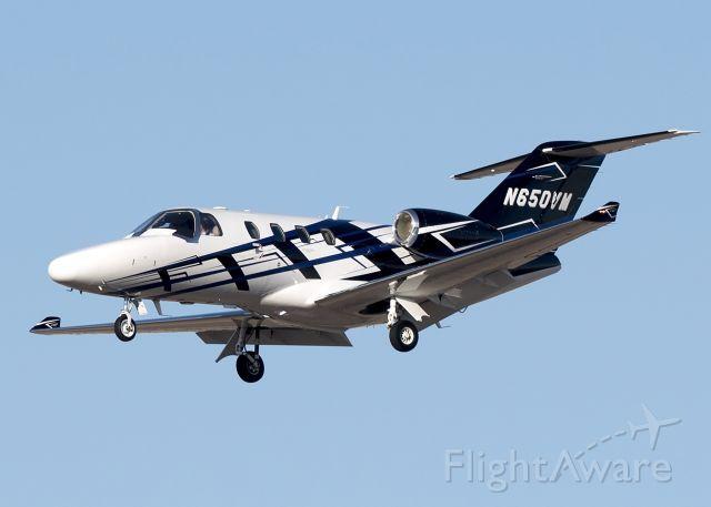 Cessna Citation CJ1 (N650VM)