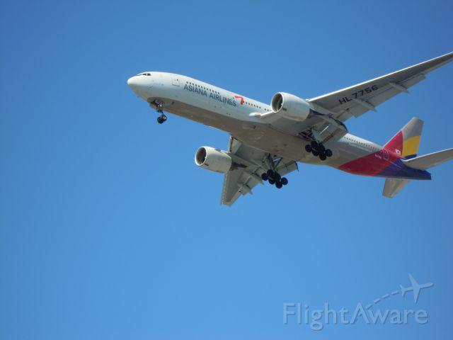 Boeing 777-200 — - ASIANA 777-200 lax