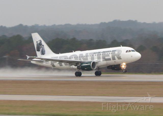 Airbus A319 (N939FR) - Departing for KTTN