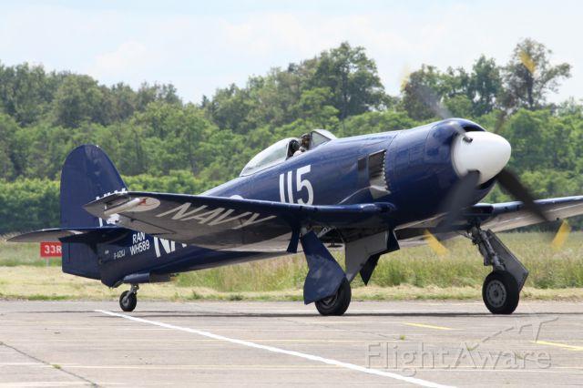 Boeing Goshawk (F-AZXJ) - Hawker Sea Fury