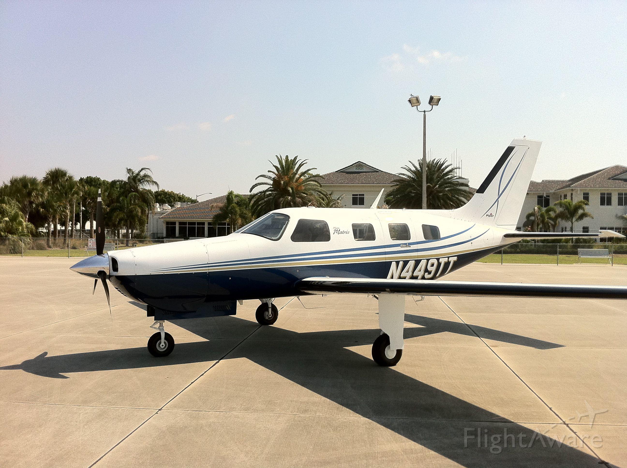Piper Malibu Mirage (N449TT)