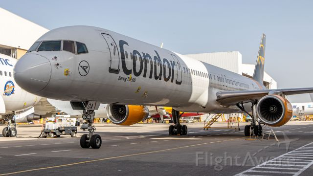 BOEING 757-300 (D-ABOA) - Condor Boeing 757-300 in storage at IAI Bedek